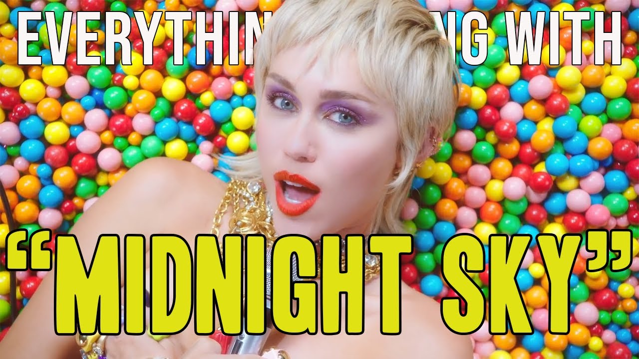 "Everything Wrong With Miley Cyrus - ""Midnight Sky"""