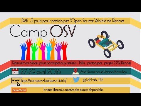 CampOSV 2016 : Restitution des travaux d'atelier