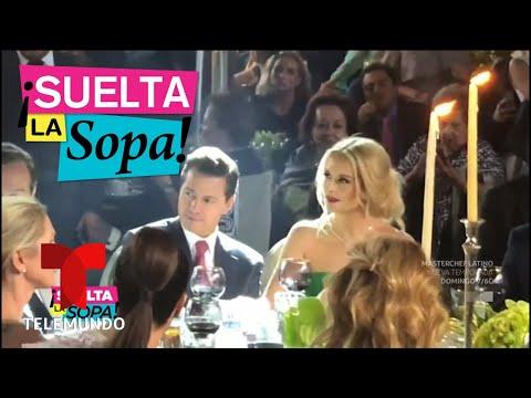 Enrique Peña Nieto y Tania Ruiz confirmaron su romance | Suelta La Sopa | Entretenimiento