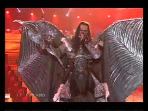 Lordi - Hard Rock Hallelujah Eurovision Winners 2006
