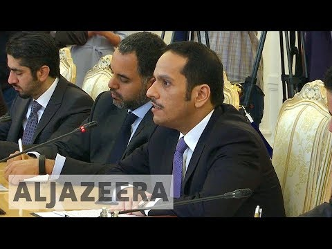 Qatar FM in Moscow for talks with Russia