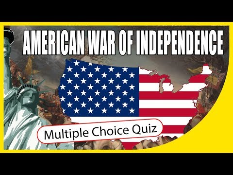 Q★ | American War Of Independence | MULTIPLE CHOICE TEST | Q-Star Quiz Channel