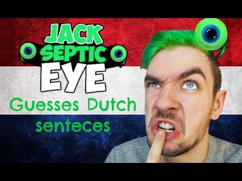 YouTubers speaking Dutch #1: Jacksepticeye guesses Dutch senteces