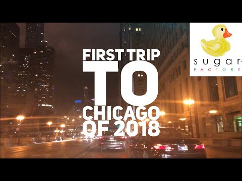 FIRST CHICAGO TRIP OF 2018!! WEEKEND LIT TIME  E2 Vlogs #3