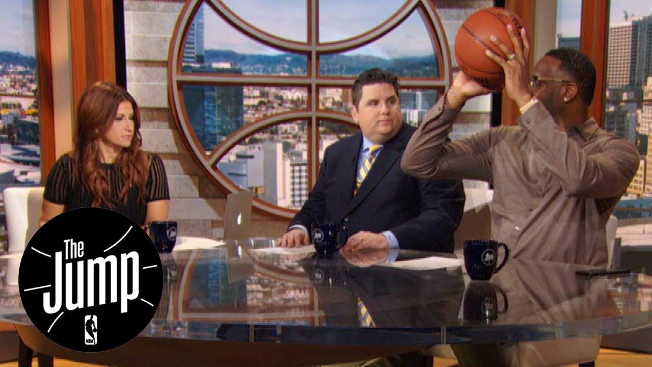 Tracy McGrady breaks down LeBron James' new shooting form | The Jump | ESPN