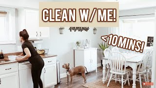 My Quick Full House Cleaning Routine!