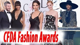 All the Fashion Highlights From the 2016 CFDA Fashion  Awards | Red carpet dresses