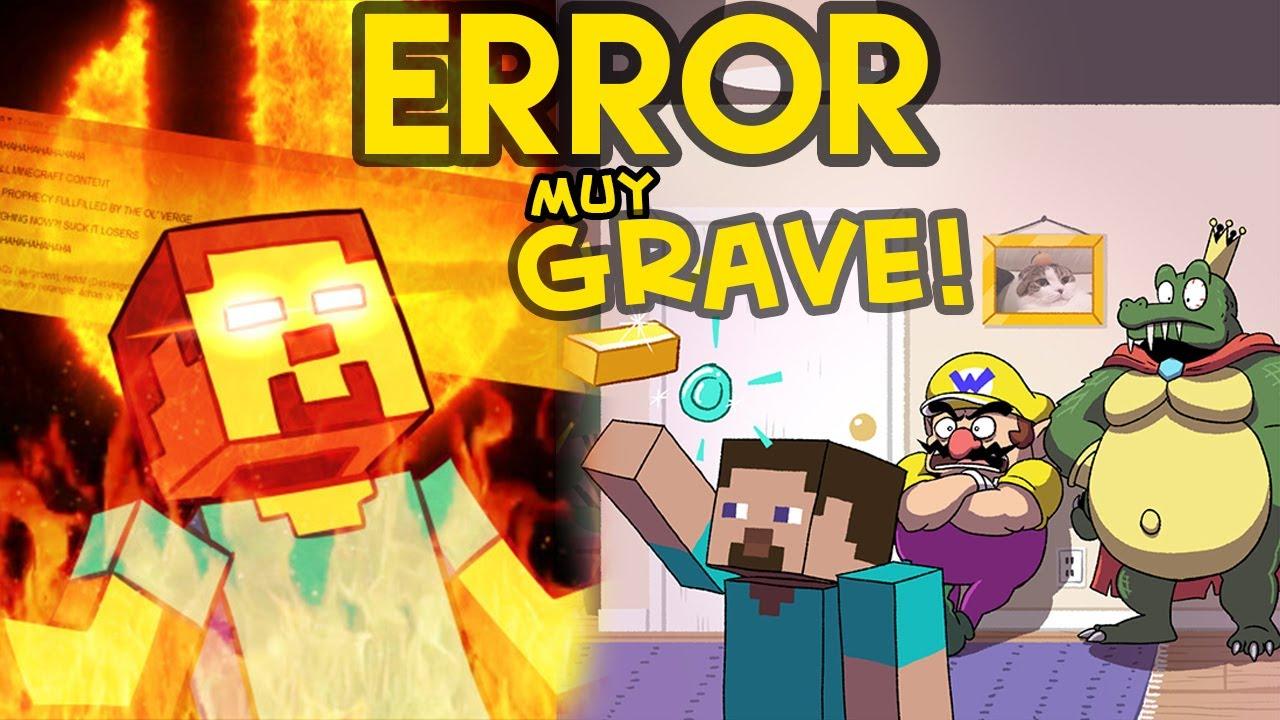 STEVE en Smash Bros Ultimate es un ERROR MUY GRAVE!! (MEMES)