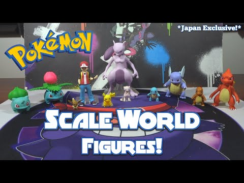 Pokemon Scale World Figure Opening!