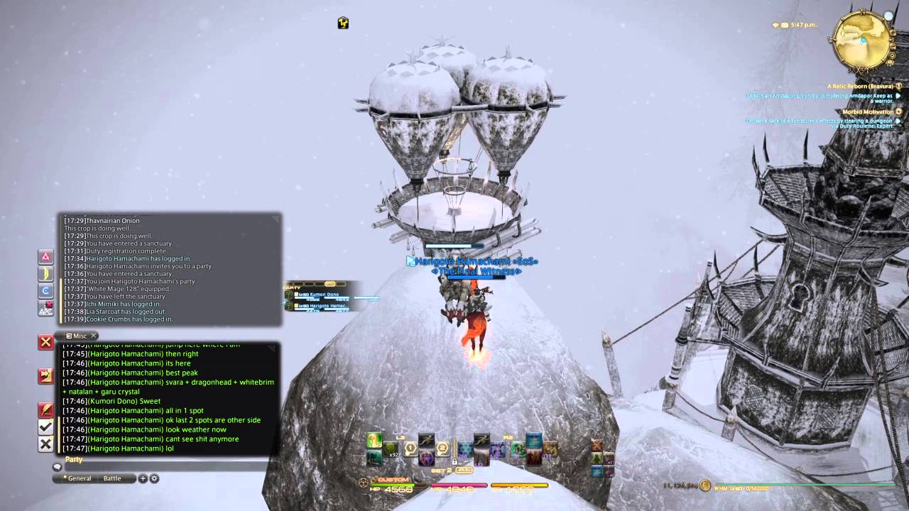 Final Fantasy XIV: A Realm Reborn - Coerthas - Out of Map - YouTube