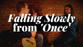 "Falling Slowly from ""Once"" performed by Redbrick Duo"