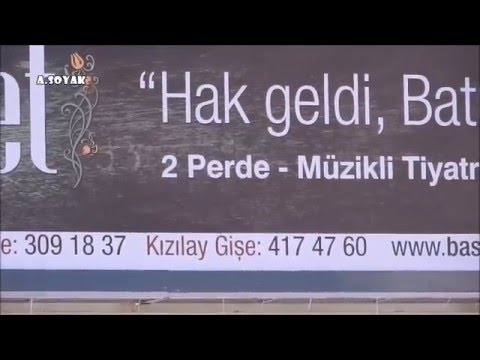 ASRI SAADET, BAŞKENT TİYATRO AFİŞİ (17.11.2015)