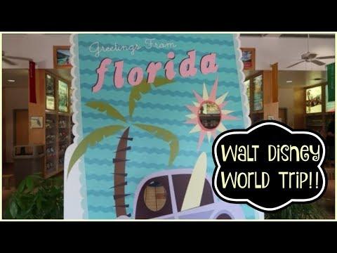 Disney Vlog!! | Part #1 June 2017 | Travel Day!!! Eeeek! 8 Days of Disney