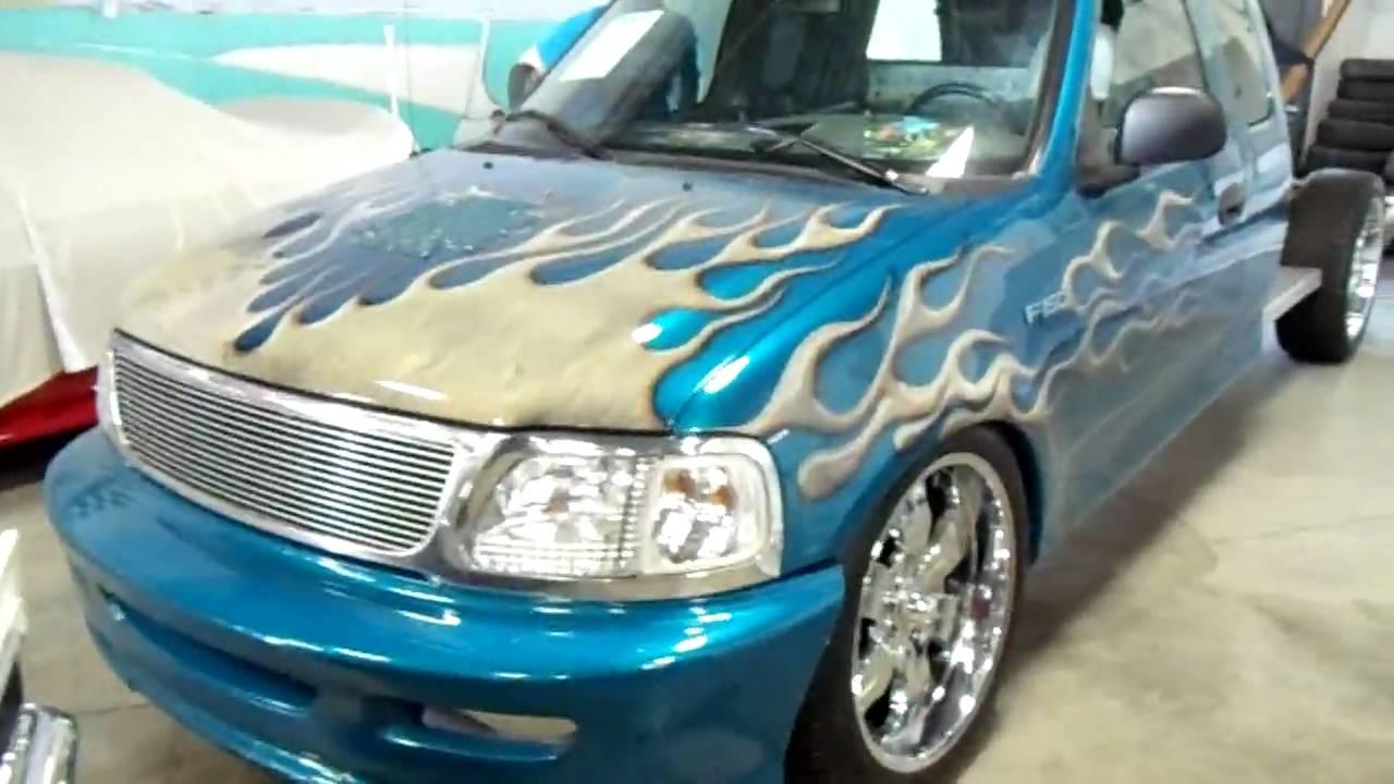 Jesse james monster garage nut shaker truck custom ford - Jesse james monster garage ...