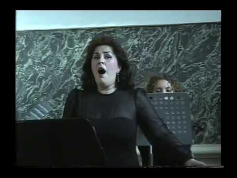 Excerpt from solo concert at State Academic Cappella of Saint Petersburg - Lyutsina Kazachenko