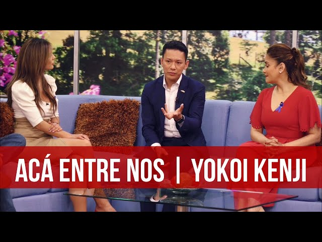 ACÁ ENTRE NOS   YOKOI KENJI   ENTREVISTA