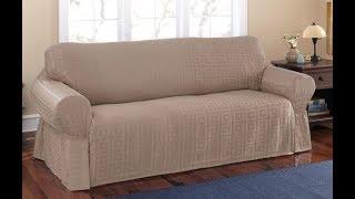 Remodeling Old Sofa Using Slip Covered Sofas
