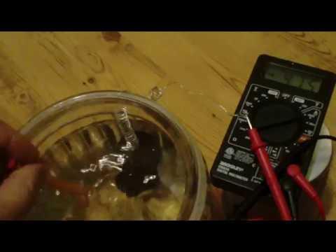 graphene telluric earth battery