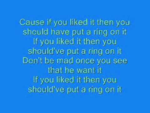 Single Ladies Beyonce Lyrics