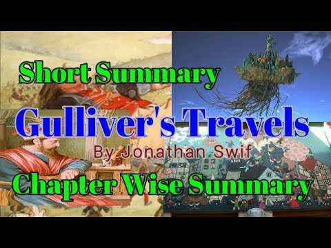 Gulliver's Travels Short Summary and Part Wise Summary | Learn English Through Story