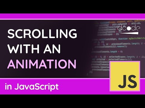 Scrolling With Animations Using