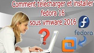 télécharget et installer la distribution fedora sous vmware en darija | درجة المغربية