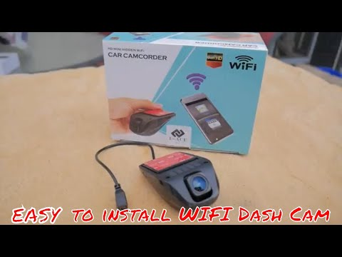 Mini Wifi Dash Cam/ 1080p/ Review/install