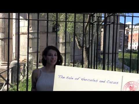 Digital Postcard - Rome - Bocca Della Verita & Temple of Hercules Victor