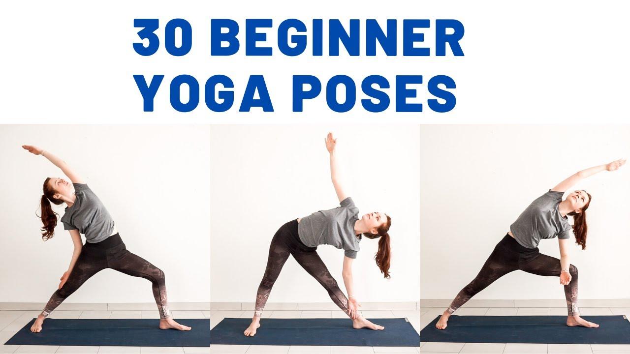 50 BASIC BEGINNER YOGA POSES   Yoga for beginners   Yoga with Uliana