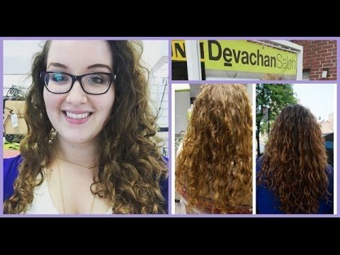 My First Devacut Upper West Side Nyc Whirlsandcurls Youtube