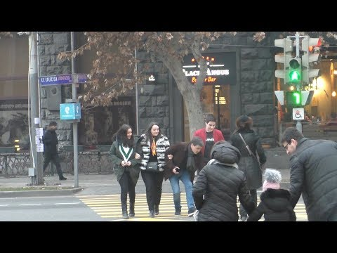 Yerevan, 28.01.19, Mo, Video-2, Mashtots poghota..