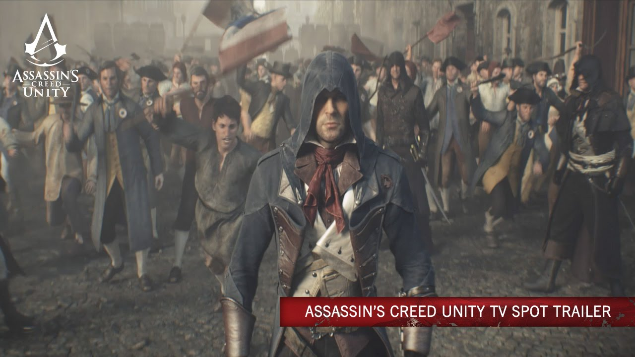 Assassin's Creed Unity TV Spot Trailer [XBL] [DE]