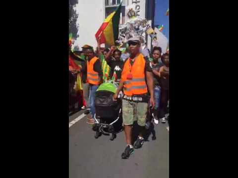 Protest in German, Frankfurt against the killing of protesters in Ethiopia