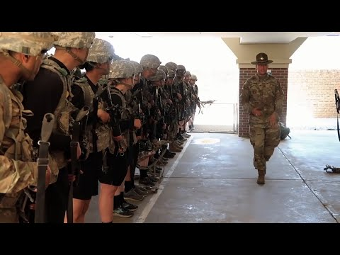 A Typical Day in Army Basic Training
