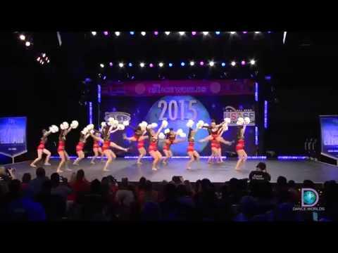 Gold Star Cheer and Dance   Twilight Scotland 2015 International Open Pom Finals