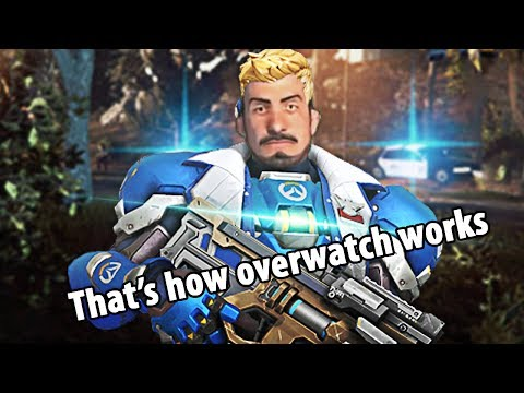 Thats how Overwatch works!