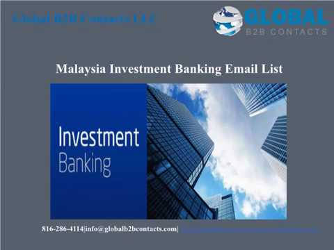 Malaysia Investment Banking Email list