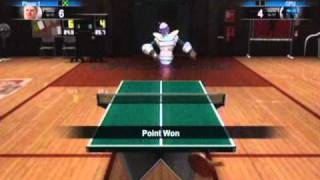 Sports Champions - Table Tennis Gold Cup Boss Battle (3 Stars)