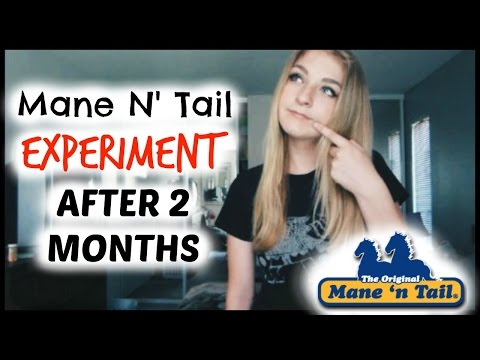 Mane N' Tail Experiment: After 2 Months