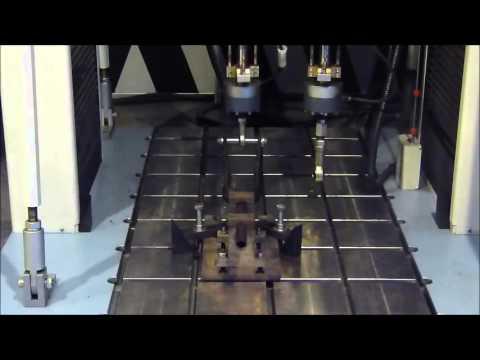 Front fork - bending fatigue test Video