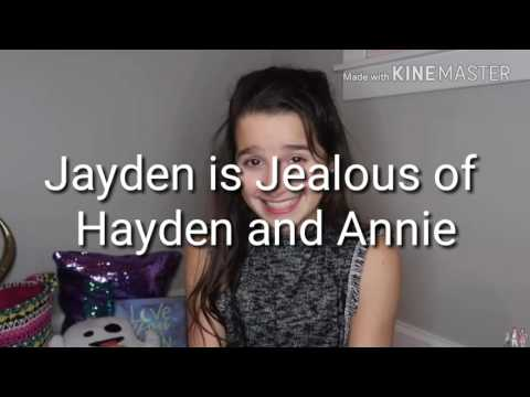 Jayden is Jealous of Hayden and Annie ~ If Only