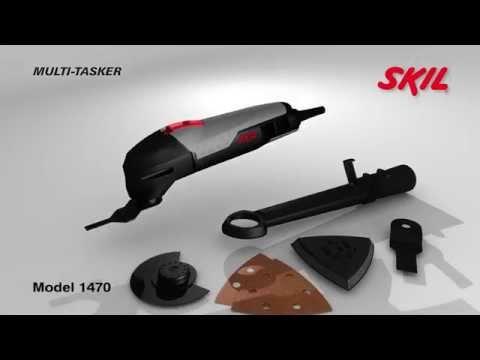 Skil 1470 LA: Шлифование, пиление и резание -- и все это одним инструментом