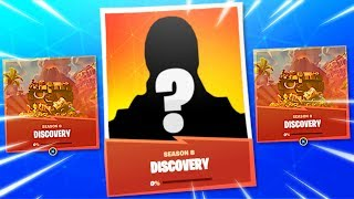 "New SECRET ""DISCOVERY SKIN"" in Fortnite Season 8! MYSTERY ""DISCOVERY SKIN"" CHALLENGES! (SECRET SKIN)"