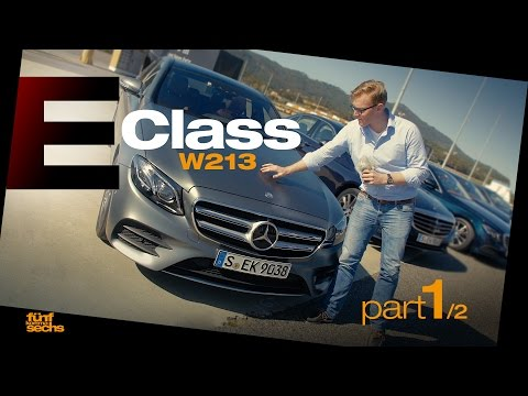 The new Mercedes E-Class W213 on Testdrive in Portugal / Pt.1 (German)