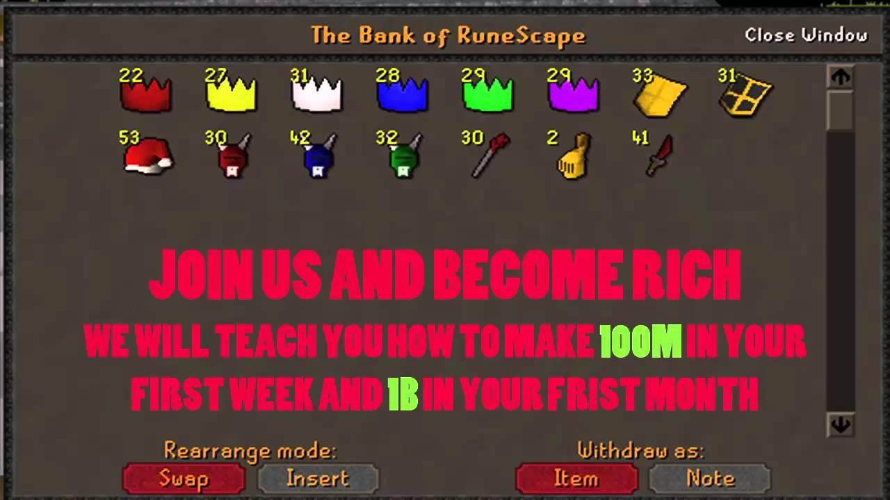 Old School RuneScape Grand Exchange Merchanting Clan Make Millions