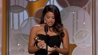 2015 Golden Globes: Gina Rodriguez Made Us All Cry With Her Incredible Acceptance Speech
