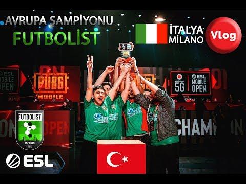 PUBG MOBILE ESL AVRUPA ŞAMPİYONU Futbolist(ANARSHEET) - Milano VLOG