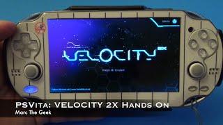 PSVita: VELOCITY 2X Hands On