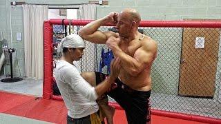Vin Diesel and Tony Jaa Training 2013