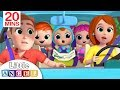 Family Drive To The Toy Store | Nursery Rhyme By Little Angel